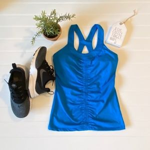 Like New Soybu Active Wear Ruched Tank, Small